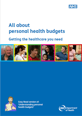 View all about personal health budgets booklet