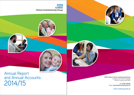 CCG Annual Report 2014-2015 front cover