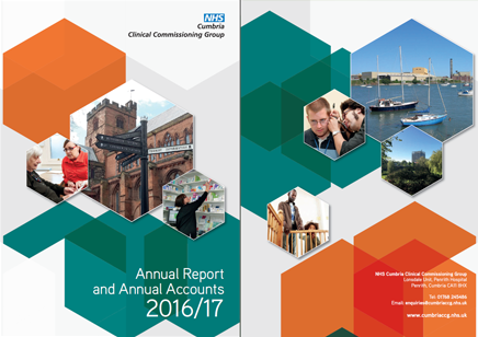 CCG 2016-2017 Annual Report Cover