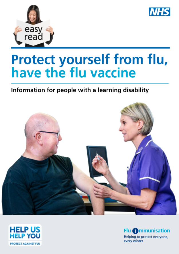 Easy Read - protect yourself from flu leaflet - thumbnail.png