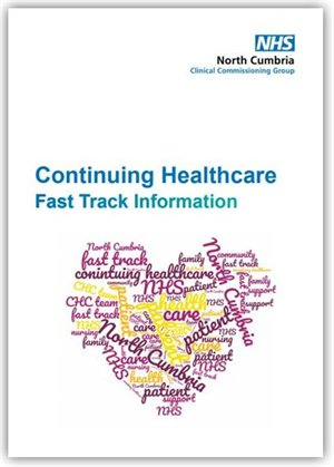 View continuing healthcare fast track information