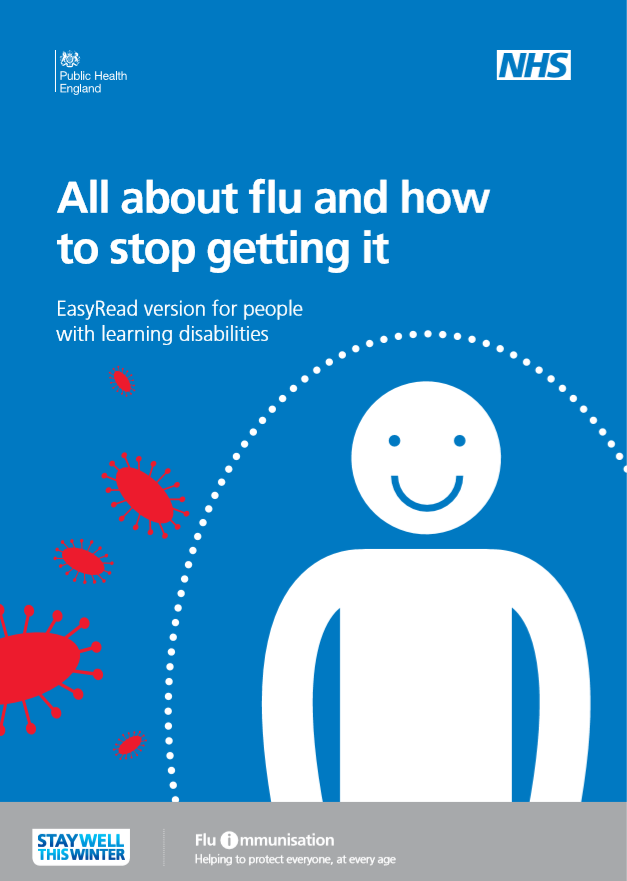 Easy Read - all about flu leaflet - thumbnail.png