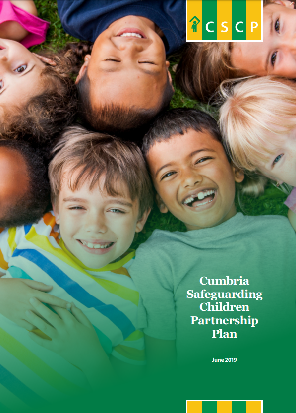 Cumbria Safeguarding Children Partnership Plan - June 2019 - front cover image