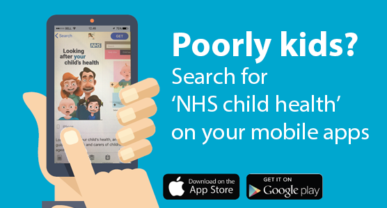 NHS child health app available now